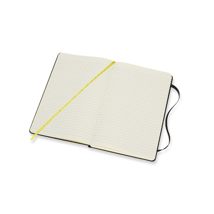 滾石樂團限定筆記本-L型橫線黑色