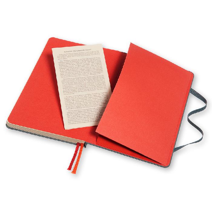 MOLESKINE|TWO-GO 筆記本-M型空白橫線