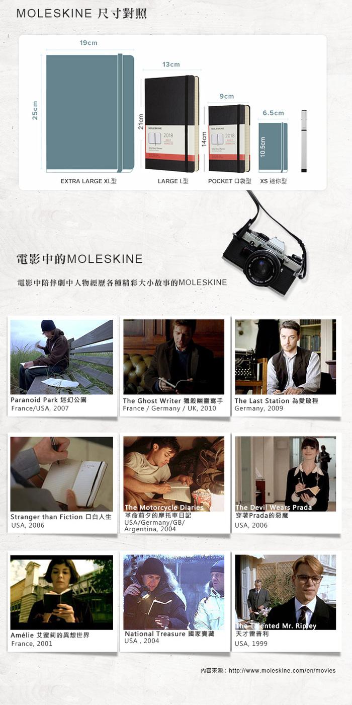 MOLESKINE|經典硬殼筆記本&鋼珠筆禮盒