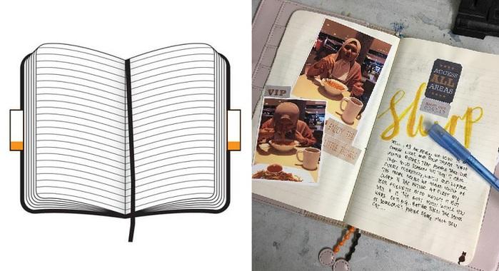 MOLESKINE|經典硬殼筆記本-2018春夏-蒲公英L型