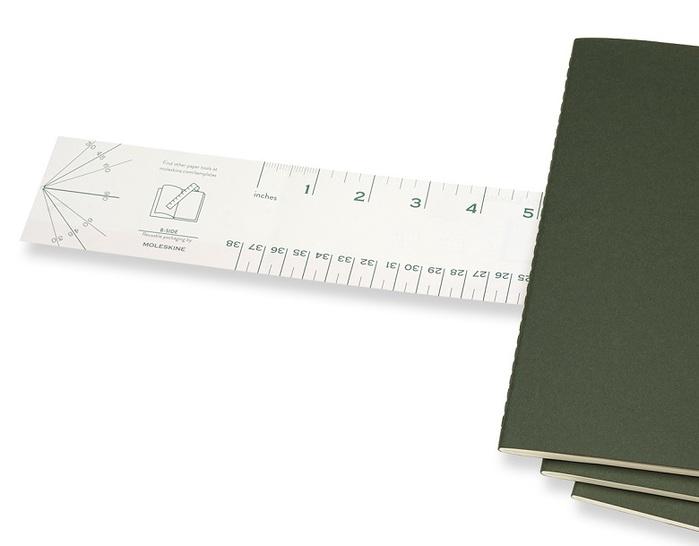 MOLESKINE|CAHIER輕便筆記本-L型橫線