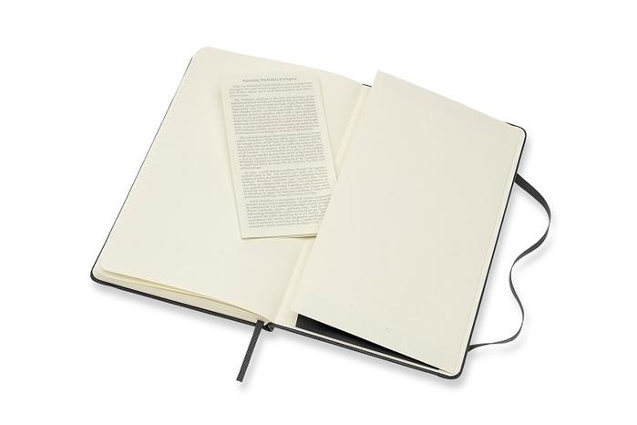 MOLESKINE|經典皮革筆記本(盒裝)-L型橫線