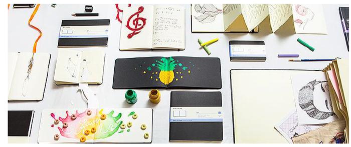 (複製)MOLESKINE|經典軟皮筆記本- L型點線綠