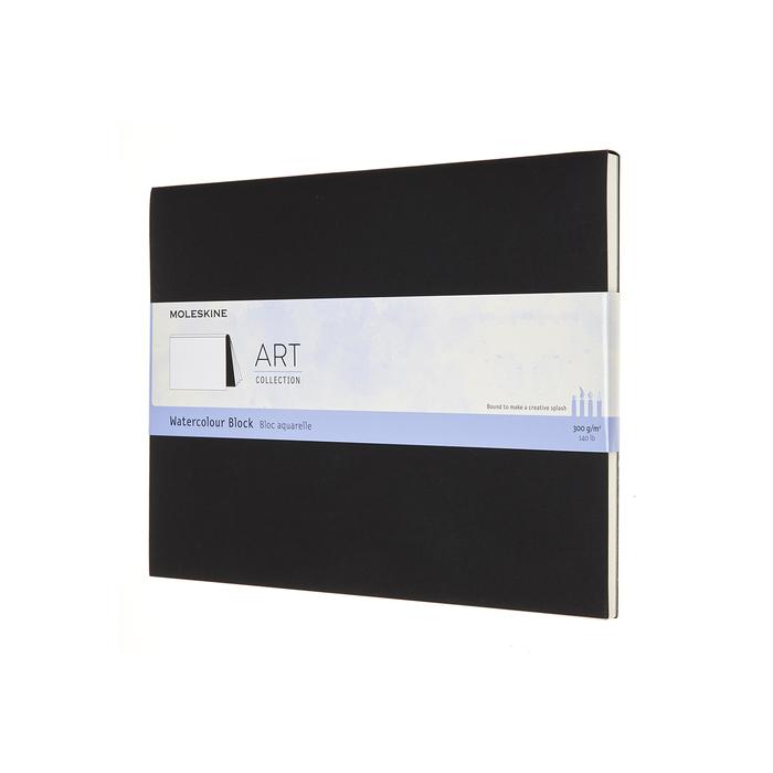 (複製)MOLESKINE|藝術系列水彩紙磚-L型黑