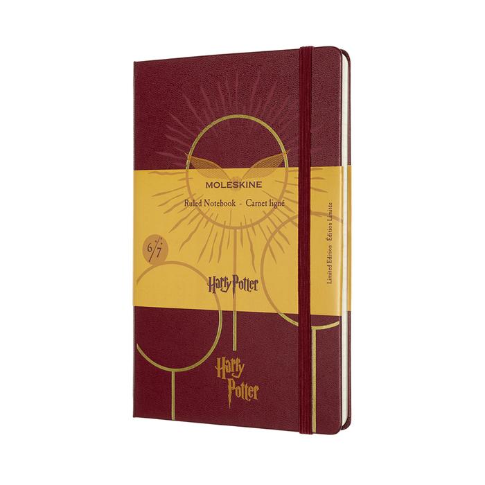 (複製)MOLESKINE|哈利波特筆記本-L橫線紫