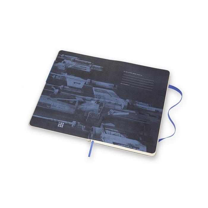 MOLESKINE|星際大戰限量筆記本-L橫線黑