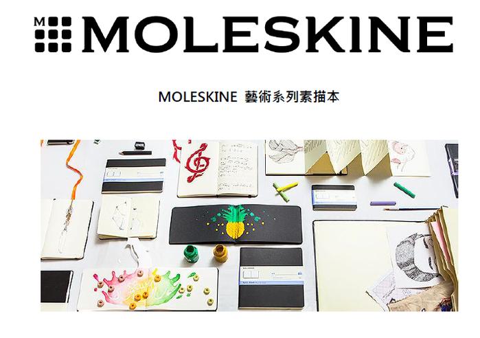 MOLESKINE|藝術系列素描本-口袋型黑