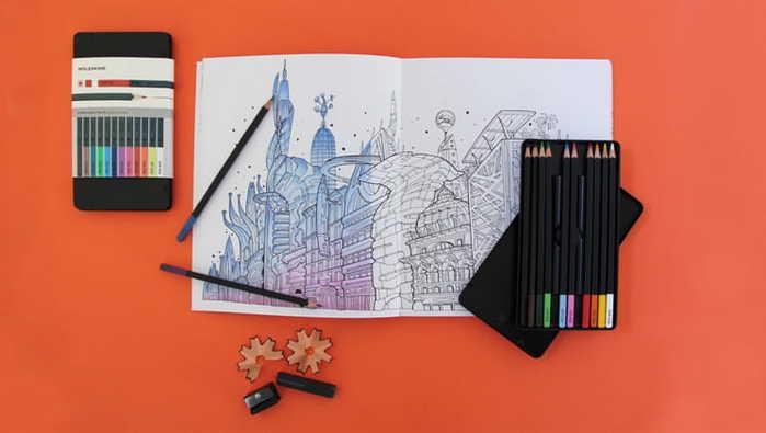 MOLESKINE|水彩色鉛筆組-12入