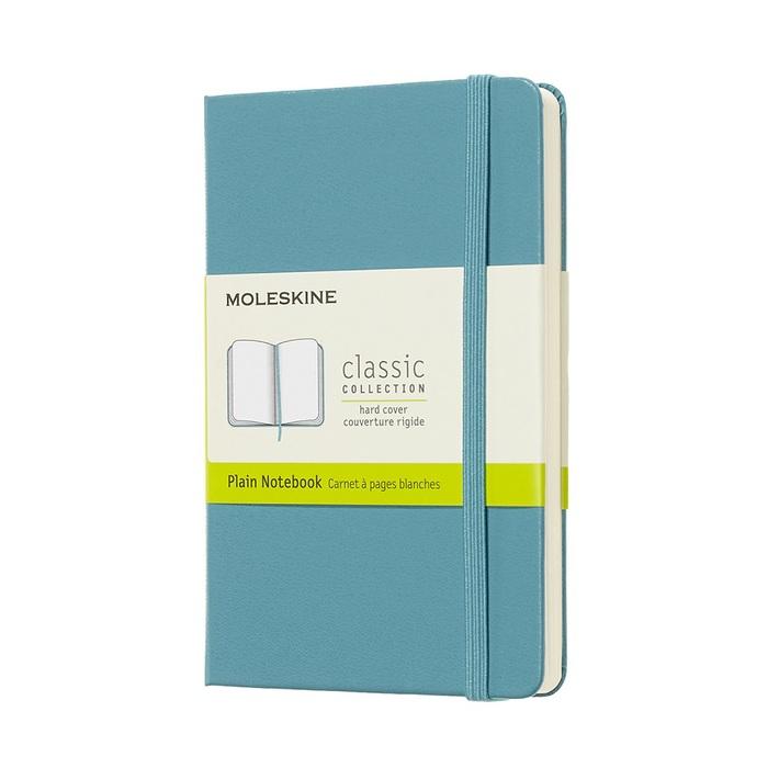 MOLESKINE|經典珊瑚藍硬殼筆記-口袋空白