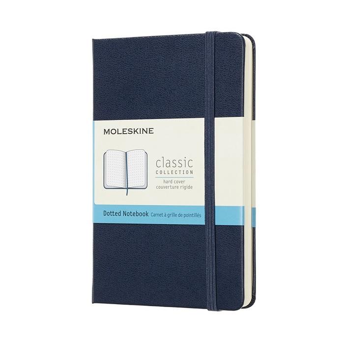 MOLESKINE|經典寶藍硬殼筆記-口袋點線