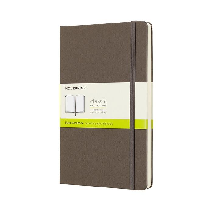 MOLESKINE 經典大地棕硬殼筆記-L空白
