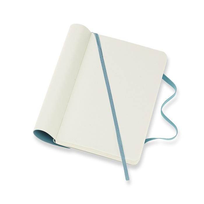 MOLESKINE|經典珊瑚藍軟皮筆記-口袋空白