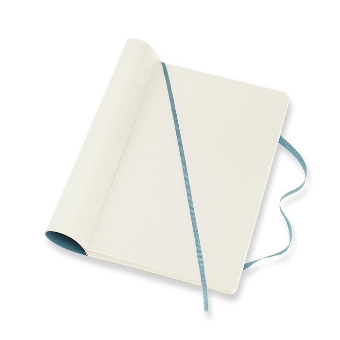 MOLESKINE|經典珊瑚藍軟皮筆記-L空白