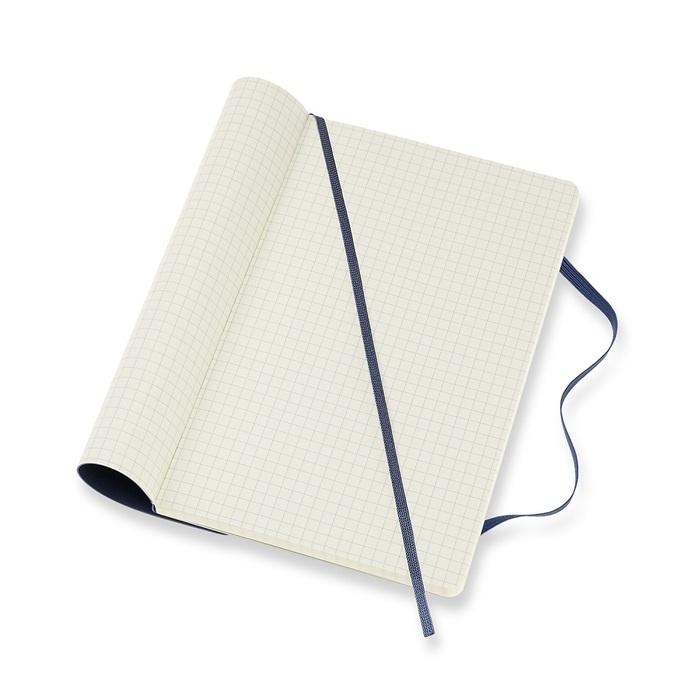 MOLESKINE|經典寶藍軟皮筆記-L方格