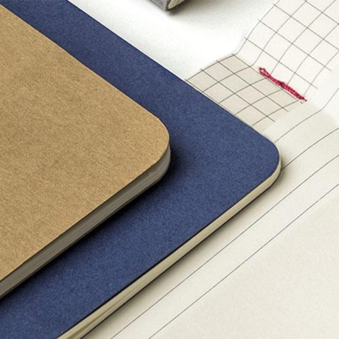 MOLESKINE|CAHIER輕便筆記本 (L型)-點線牛皮