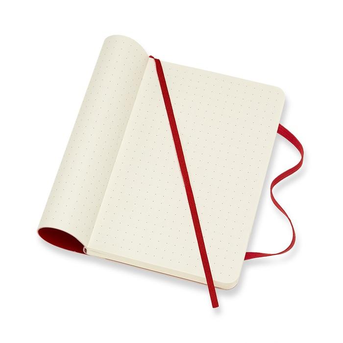 MOLESKINE|經典紅色軟皮筆記本-口袋點線
