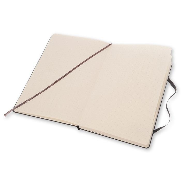 MOLESKINE|經典黑色硬殼筆記本-L型點線