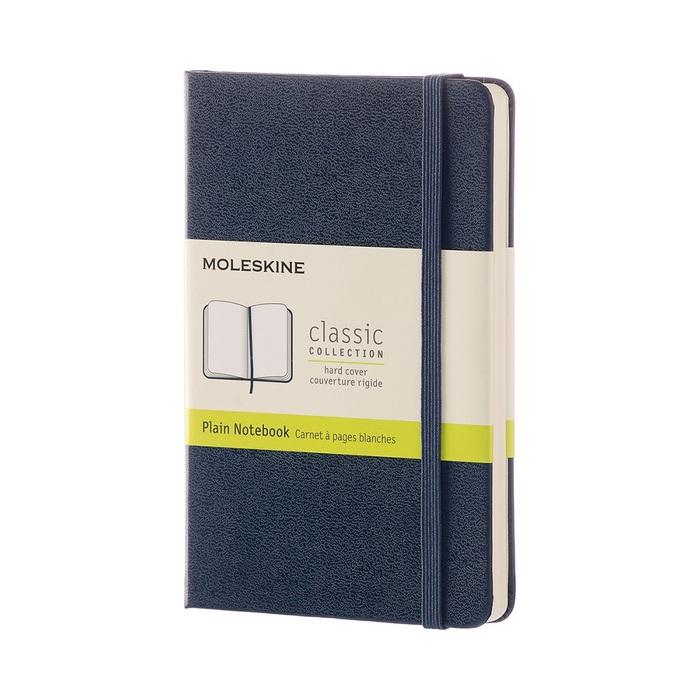 MOLESKINE|經典寶藍色硬殼筆記本-口袋空白