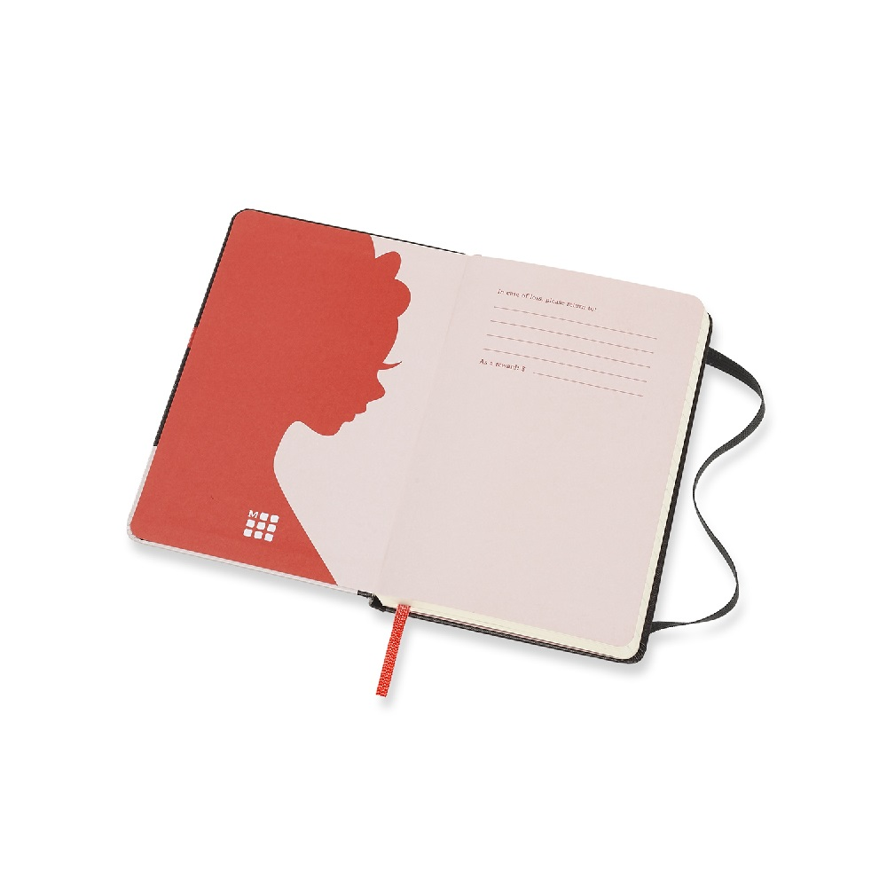 MOLESKINE|白雪公主限定版筆記本-口袋型橫線蝴蝶結