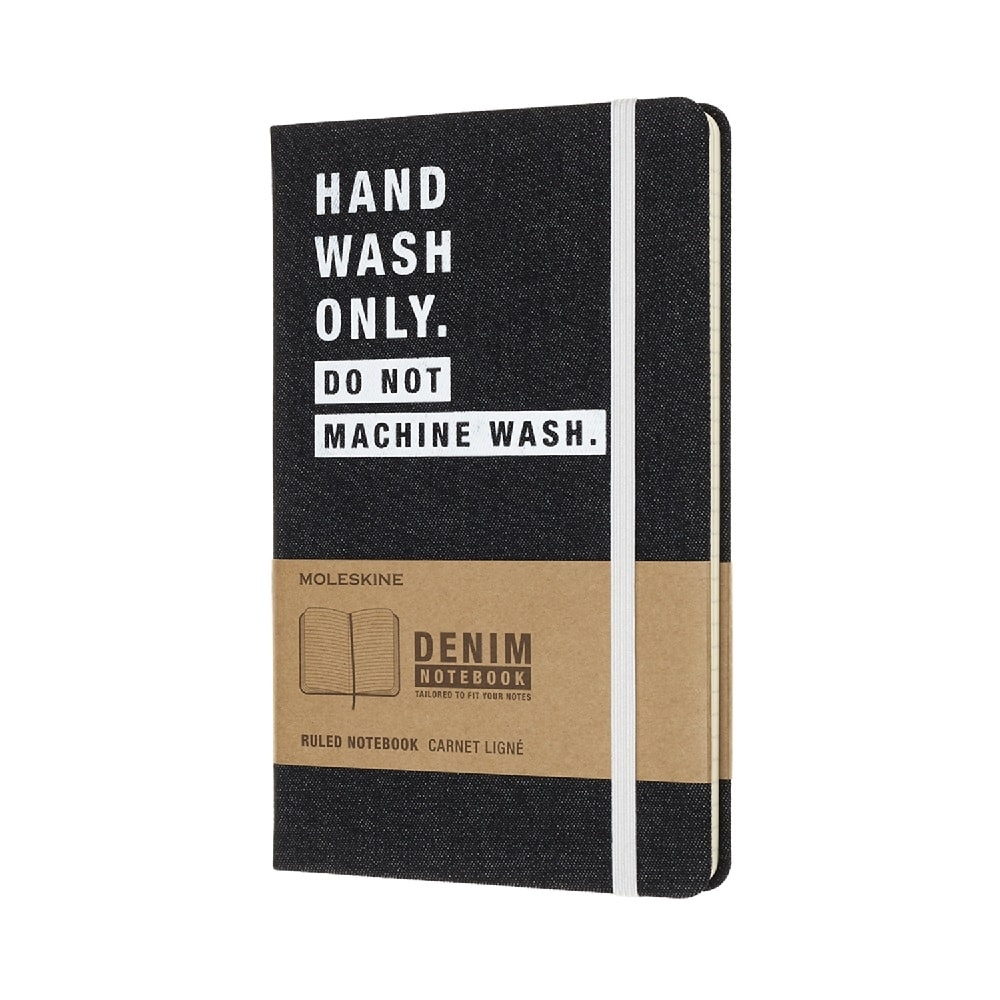 MOLESKINE|單寧限定筆記本-Hand Wash Only L型橫線