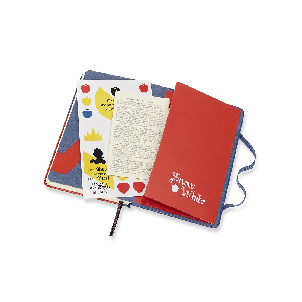 MOLESKINE|白雪公主限定版筆記本-口袋型橫線蘋果