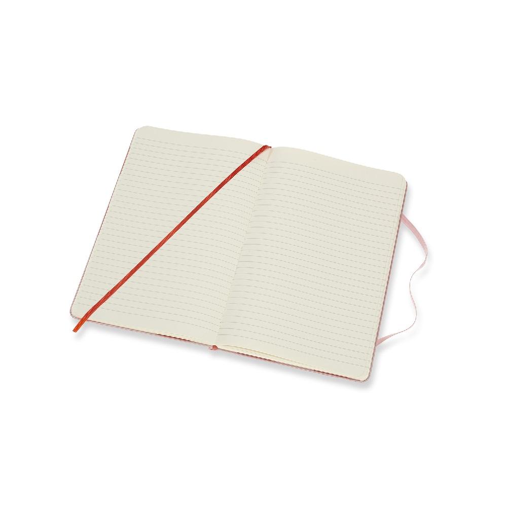 MOLESKINE|滾石樂團限定筆記本-L型橫線粉紅