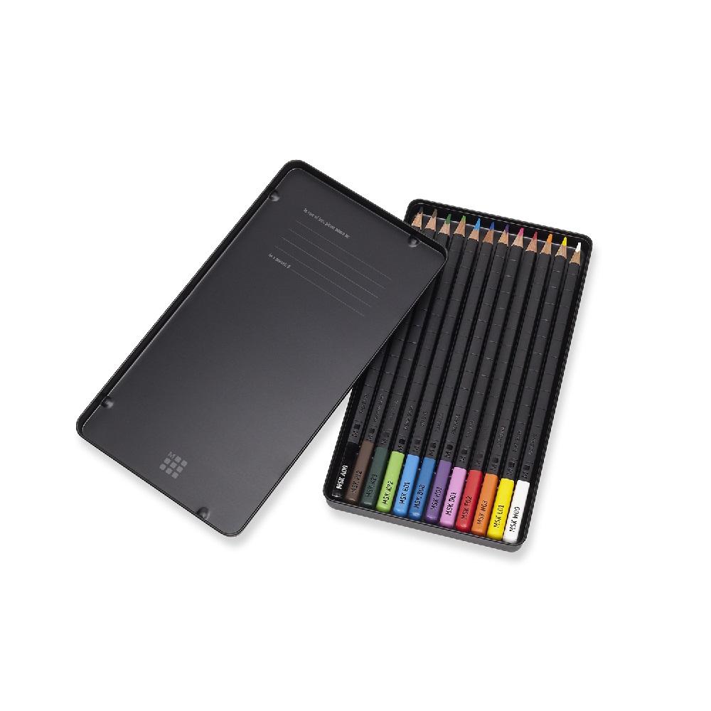 MOLESKINE|水彩色鉛筆組 12入