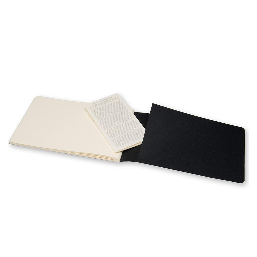 MOLESKINE 藝術系列素描畫冊-L型黑色