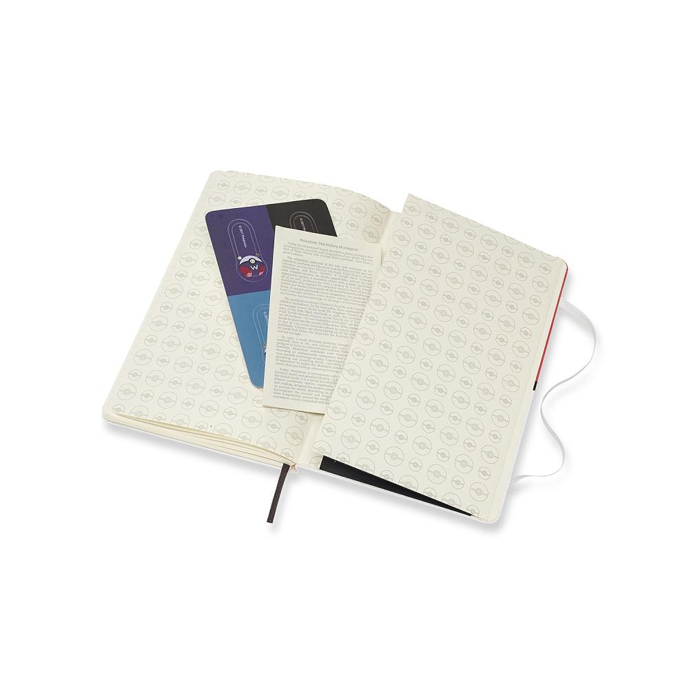 MOLESKINE|寶可夢限定版筆記本珍藏版-L型橫線