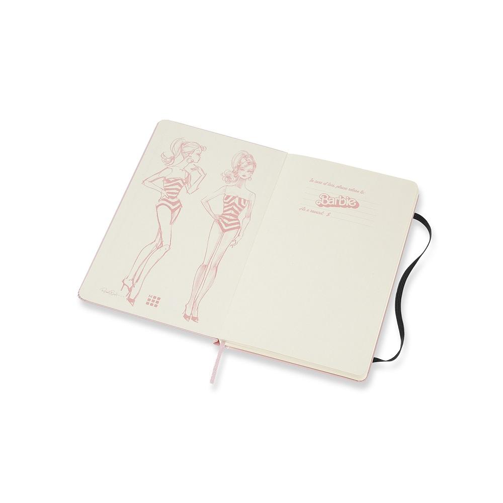 MOLESKINE 芭比限定版筆記本-L型空白泳裝