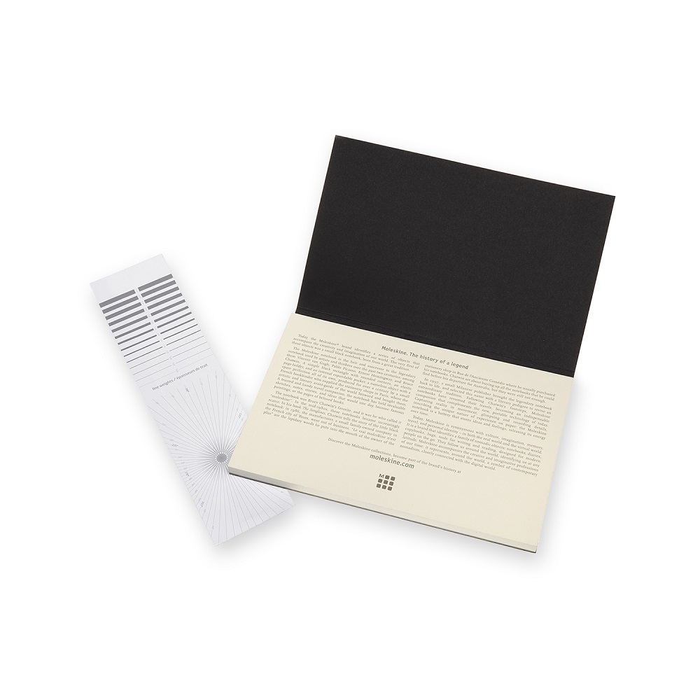 MOLESKINE|藝術系列水彩紙磚-L型黑