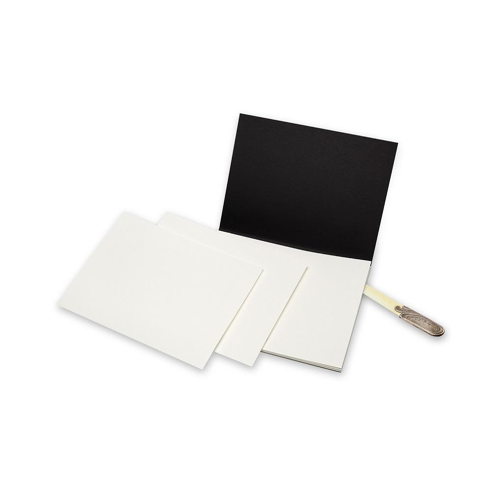 MOLESKINE|藝術系列水彩紙磚-23X31型黑