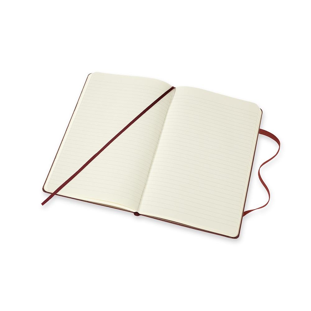 MOLESKINE|哈利波特筆記本-L橫線酒紅
