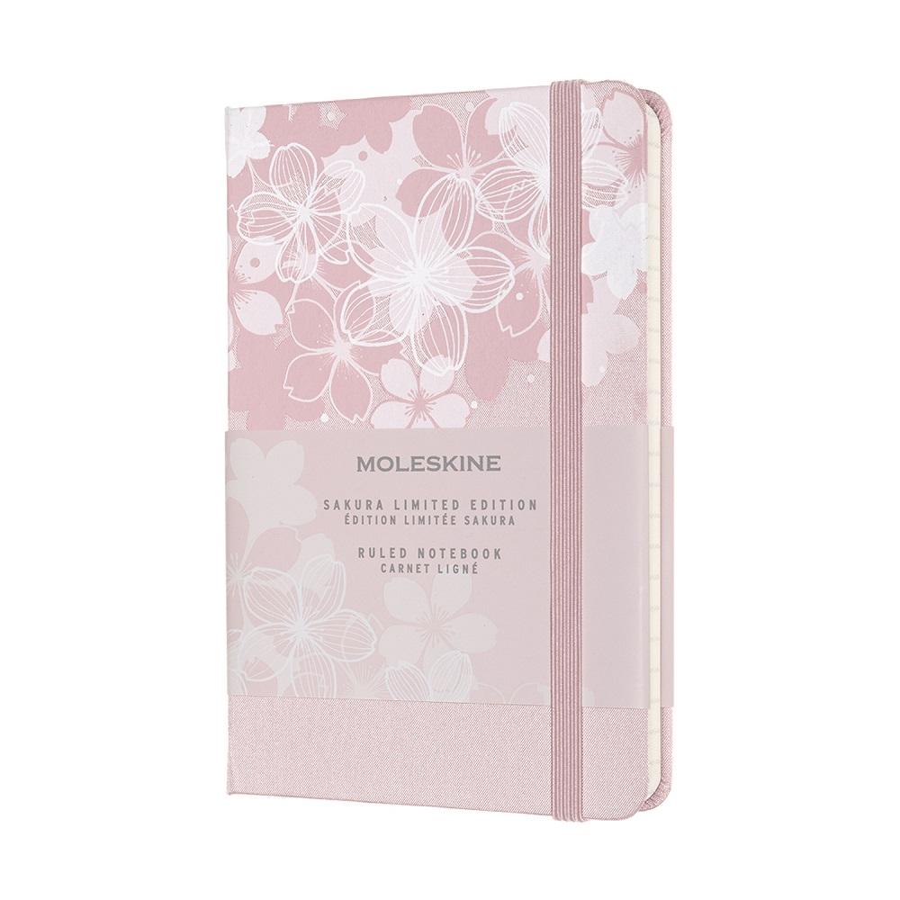 MOLESKINE|櫻花筆記本-粉口袋橫線