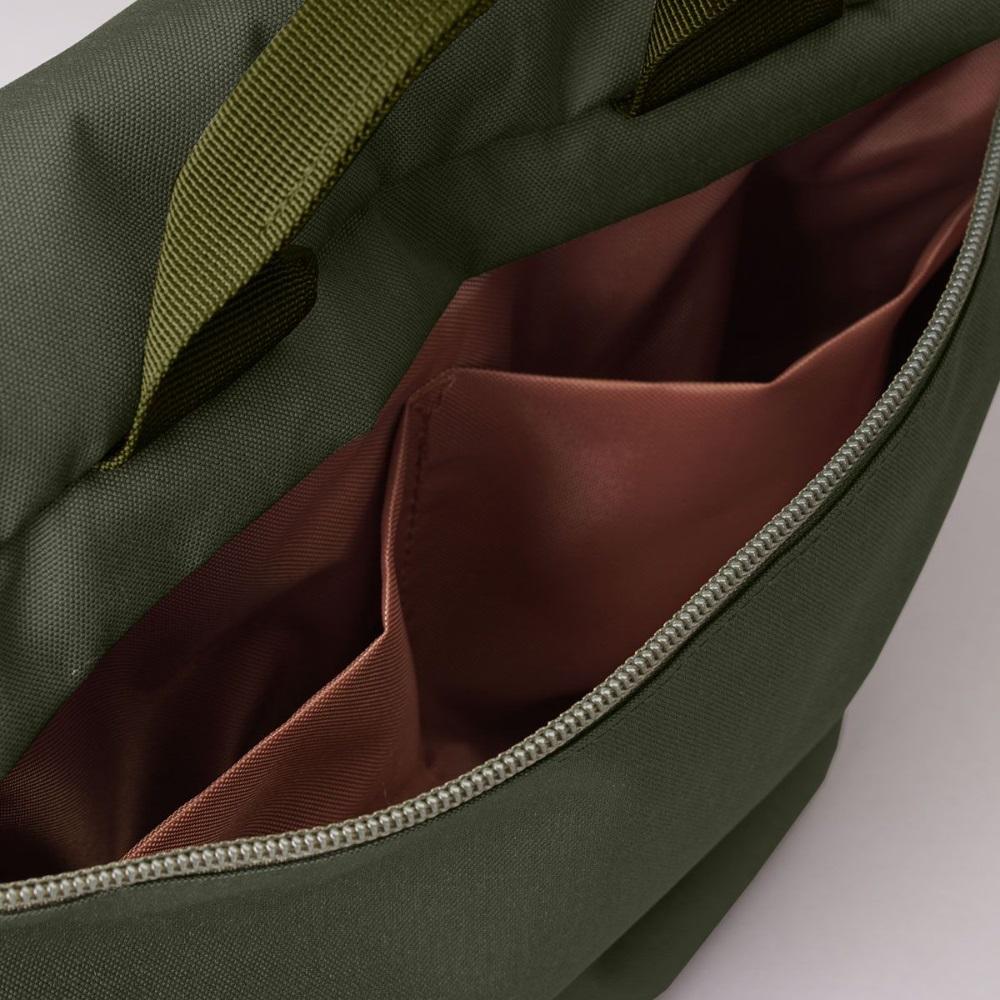 Hellolulu KASEN輕旅戶外側背包-橄欖綠