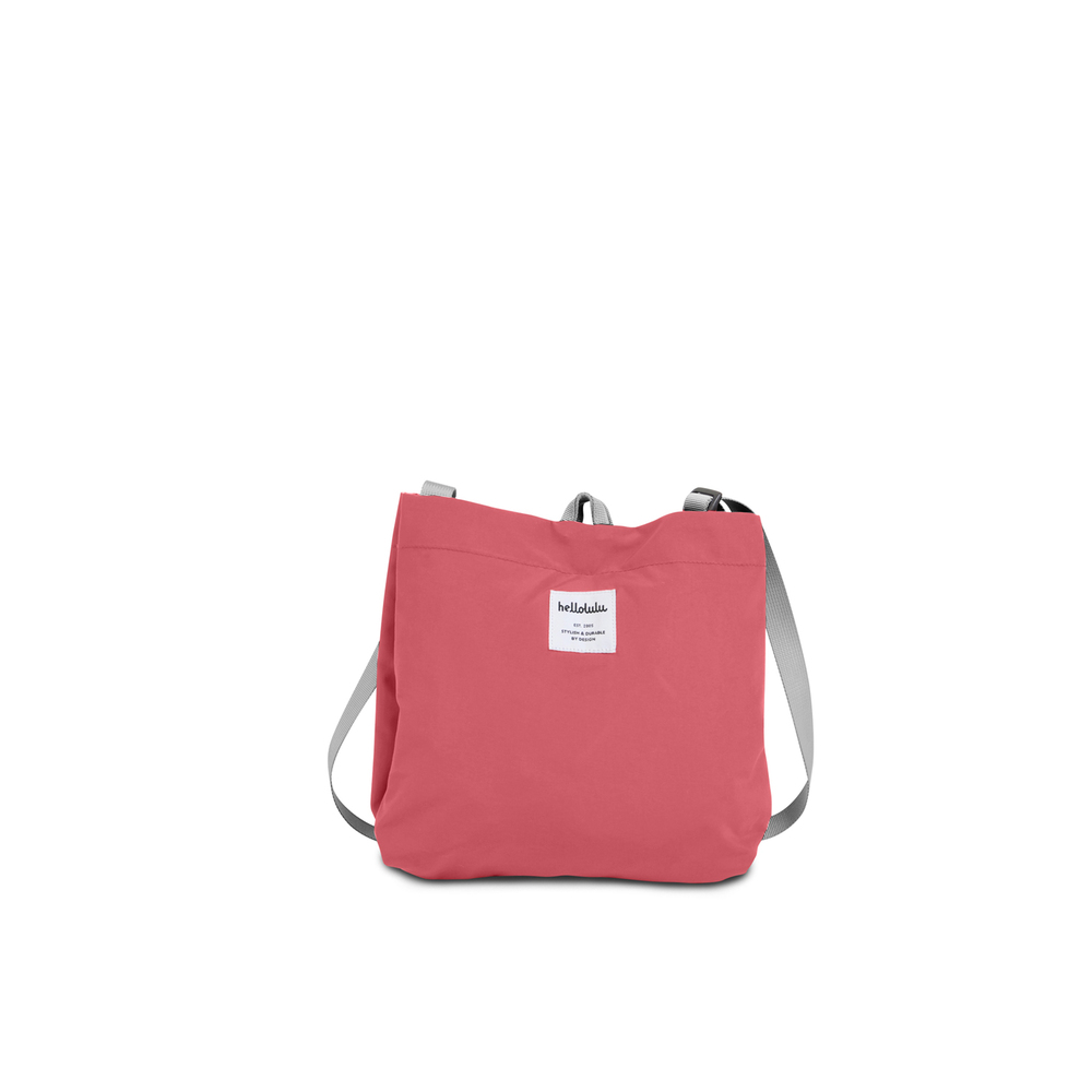 Hellolulu|EILISH小型側背包-鮭紅