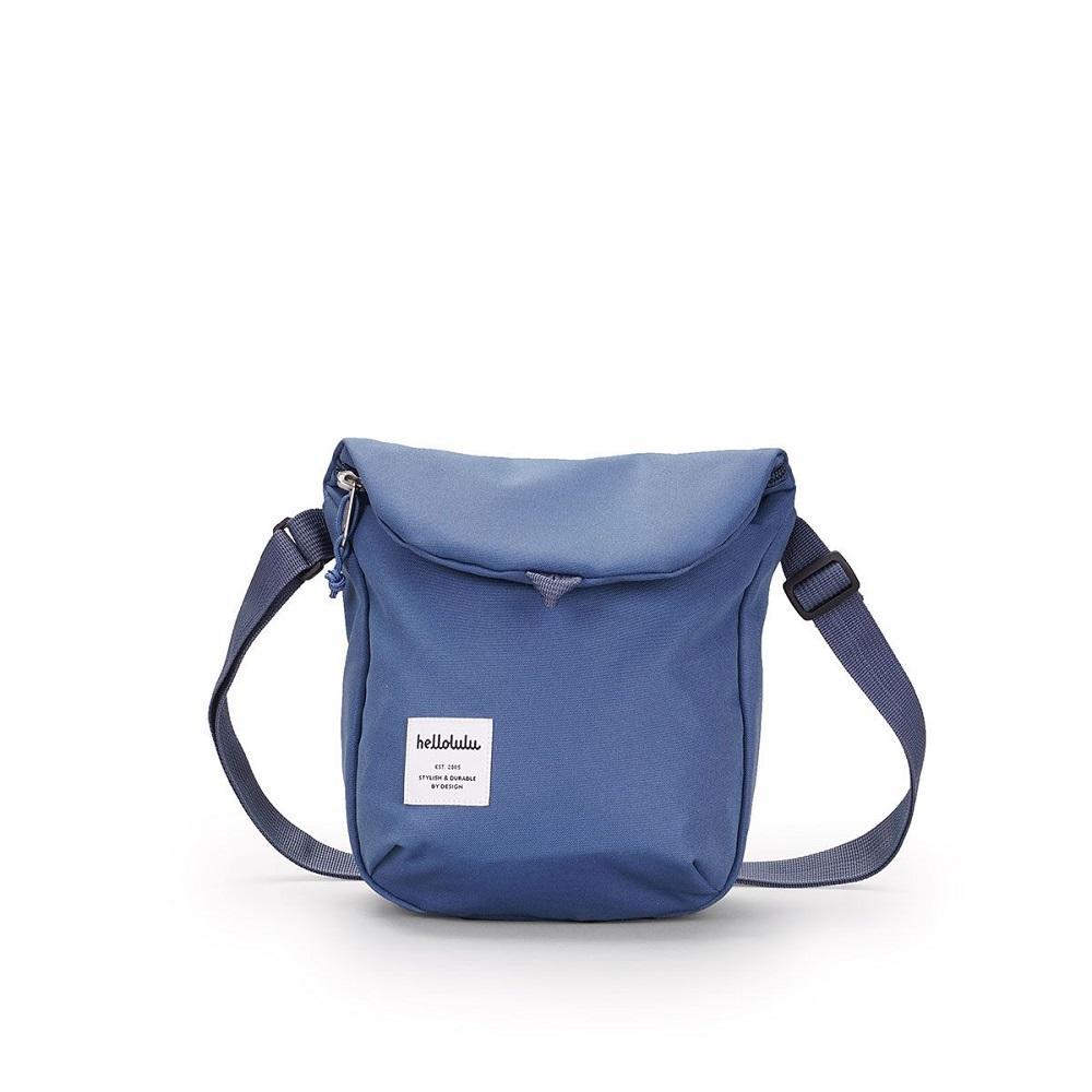 Hellolulu DESI休閒側背包-煙燻藍