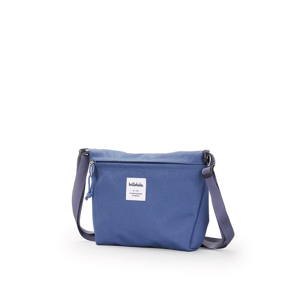 Hellolulu|CANA 隨身側背包-煙燻藍