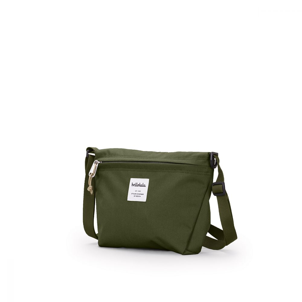 Hellolulu CANA 隨身側背包-橄欖綠