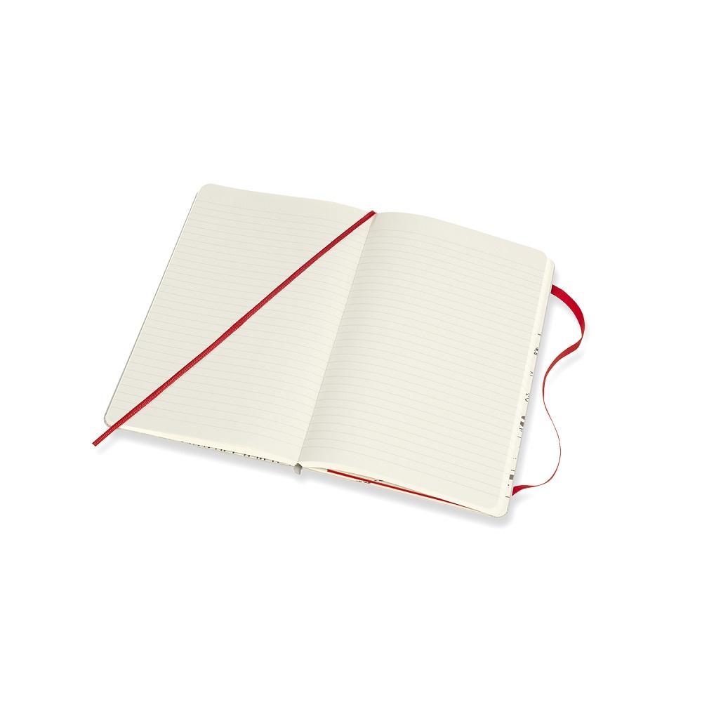 MOLESKINE 原子小金剛筆記本-L橫線淺灰