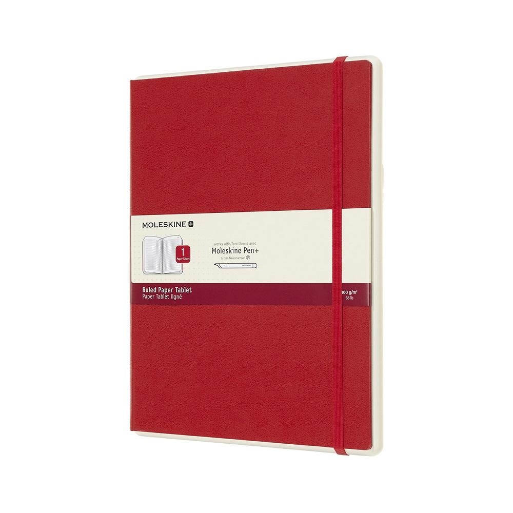 MOLESKINE|智慧型補充本-XL型橫線紅