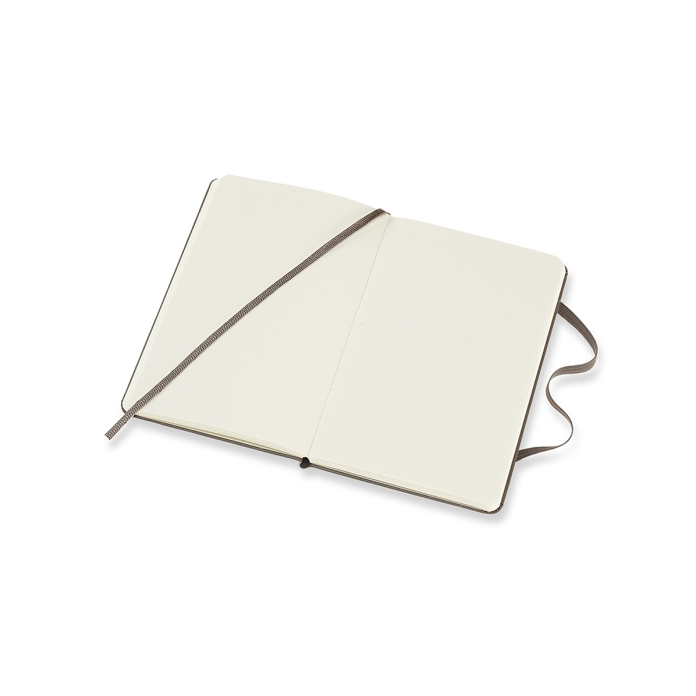 MOLESKINE 經典大地棕硬殼筆記-口袋空白