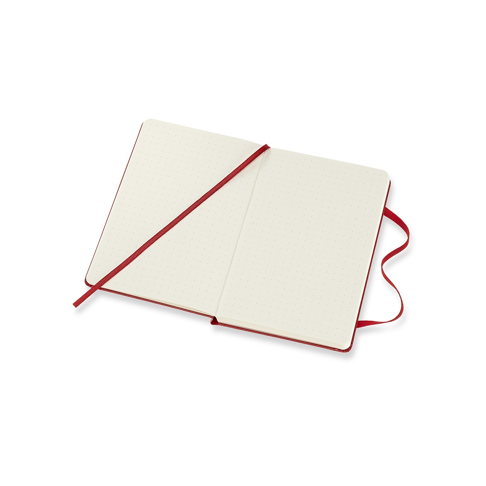 MOLESKINE|經典紅硬殼筆記-口袋點線