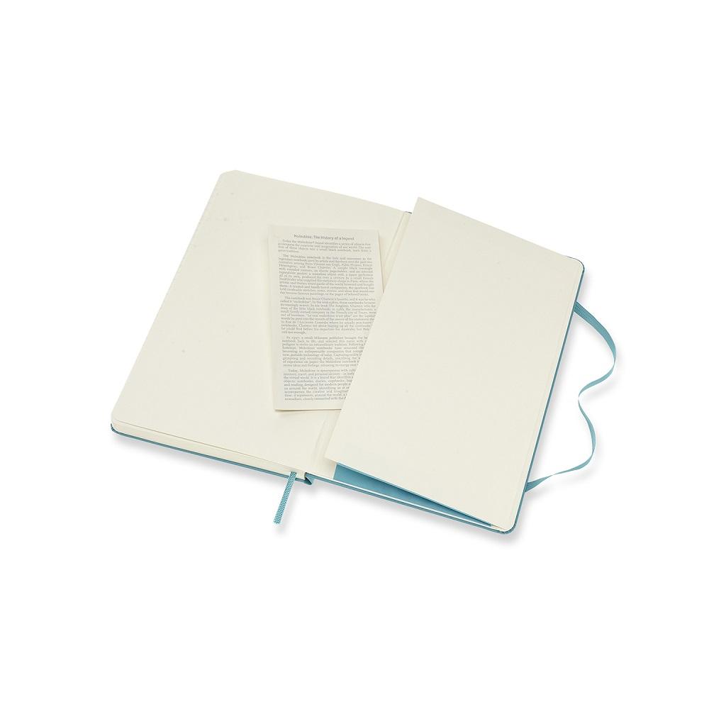 MOLESKINE|經典珊瑚藍硬殼筆記-L空白