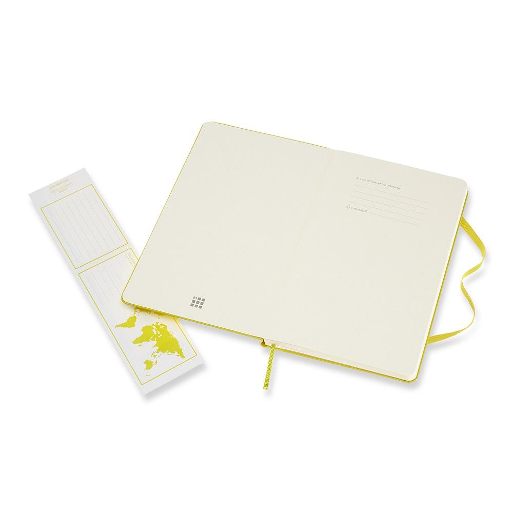 MOLESKINE|經典蒲公英黃硬殼筆記-L空白