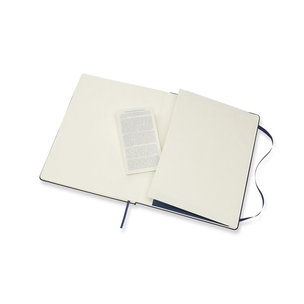 MOLESKINE 經典寶藍硬殼筆記-XL點線