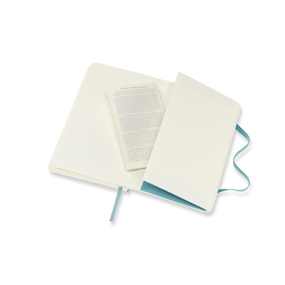 MOLESKINE 經典珊瑚藍軟皮筆記-口袋橫線