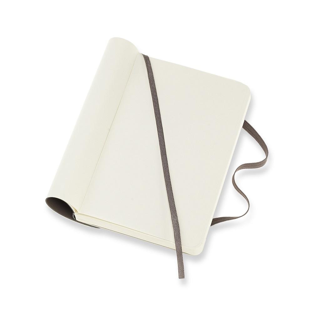 MOLESKINE|經典大地棕軟皮筆記-口袋空白