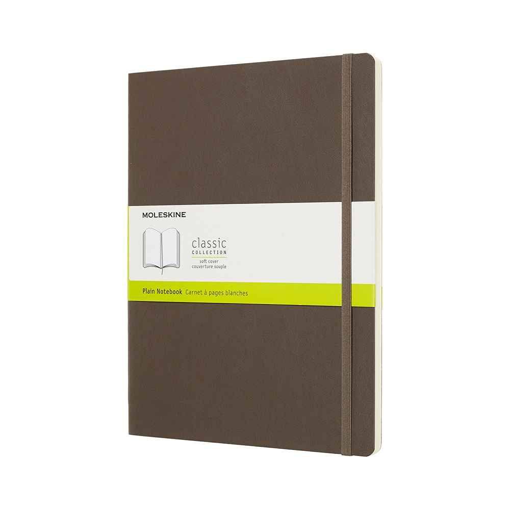 MOLESKINE|經典大地棕軟皮筆記-XL空白