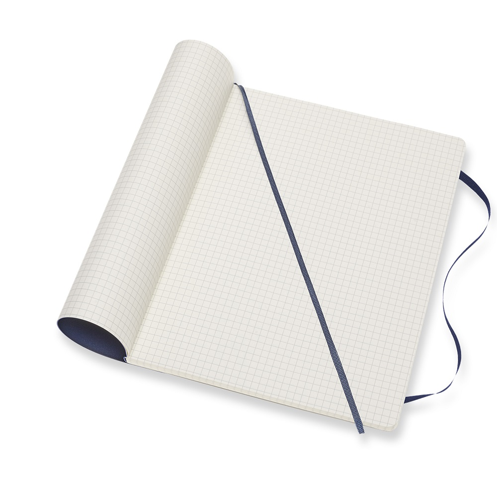 MOLESKINE|經典寶藍軟皮筆記-XL方格